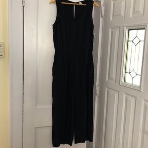 NWT Wide Leg Cropped Jumpsuit